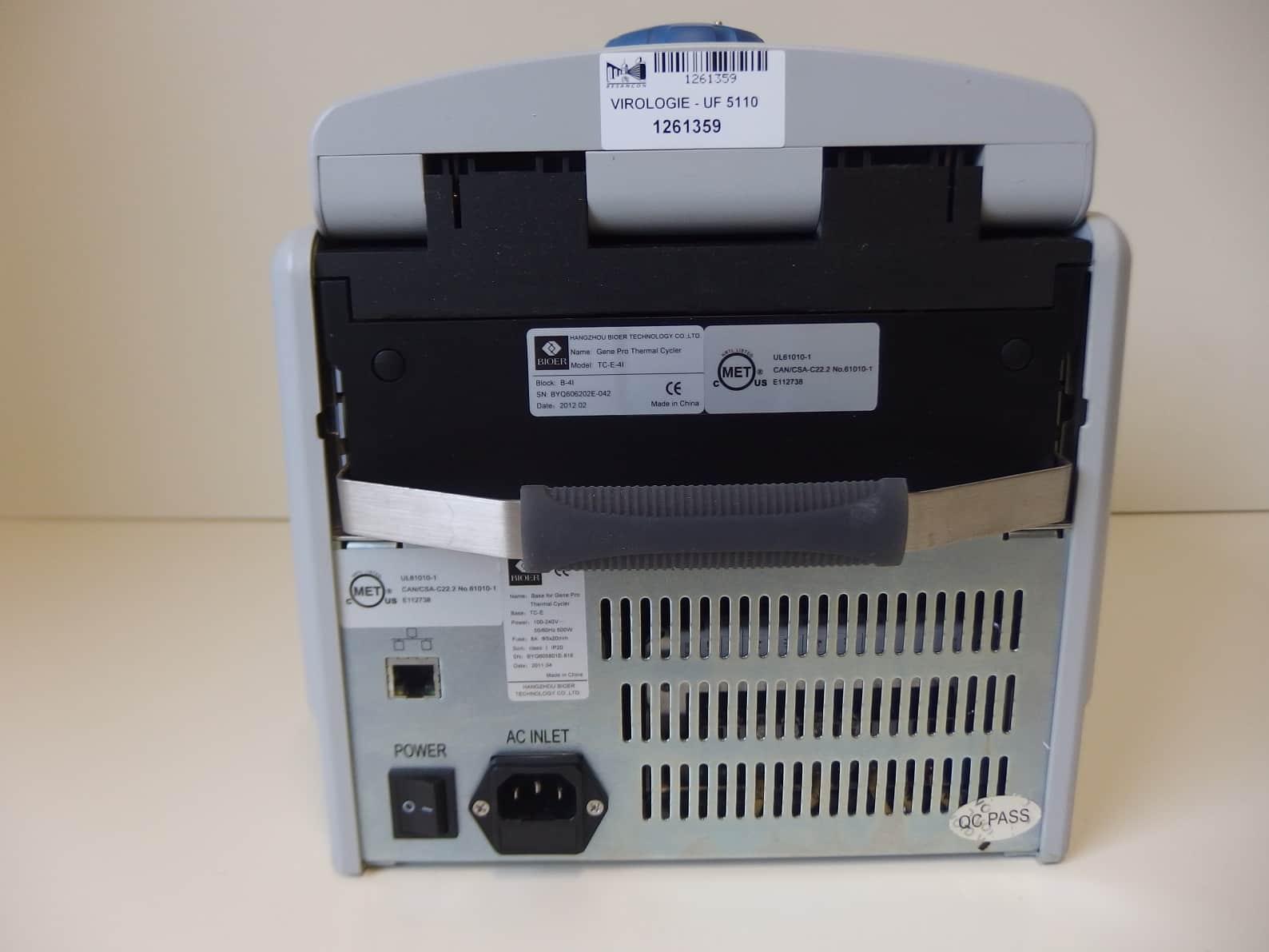 Bioer Gene Pro Thermal Cycler TC-E-4L
