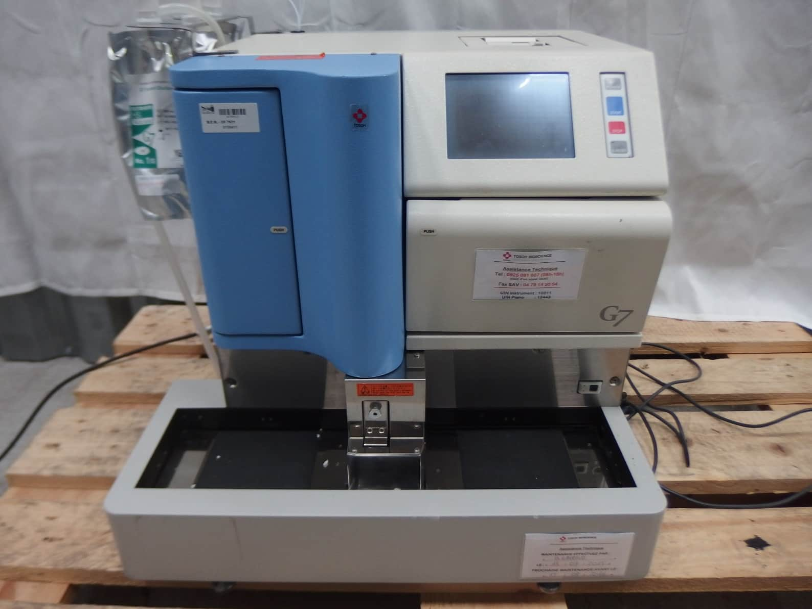 Tosoh Automated Glycohemglobin Analyzer G7 HCL-723G7