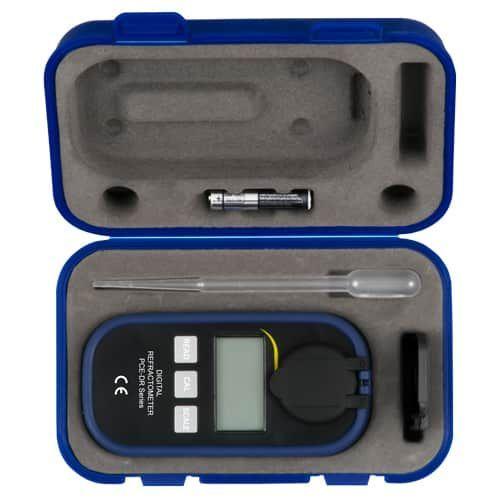 Handheld Digital Refractometer PCE-DRA 1 Ethylene Glycol / Propylene Glycol