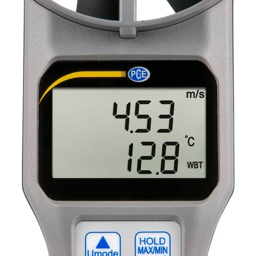 Multifunction Air Velocity Meter PCE-VA 20