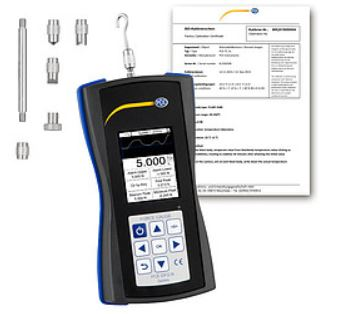 Dynamometer PCE-DFG N 5 Incl. ISO Calibration Certificate