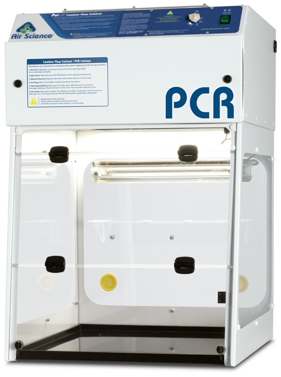 Air Science Purair PCR Laminar Flow Cabinets, PCR-24
