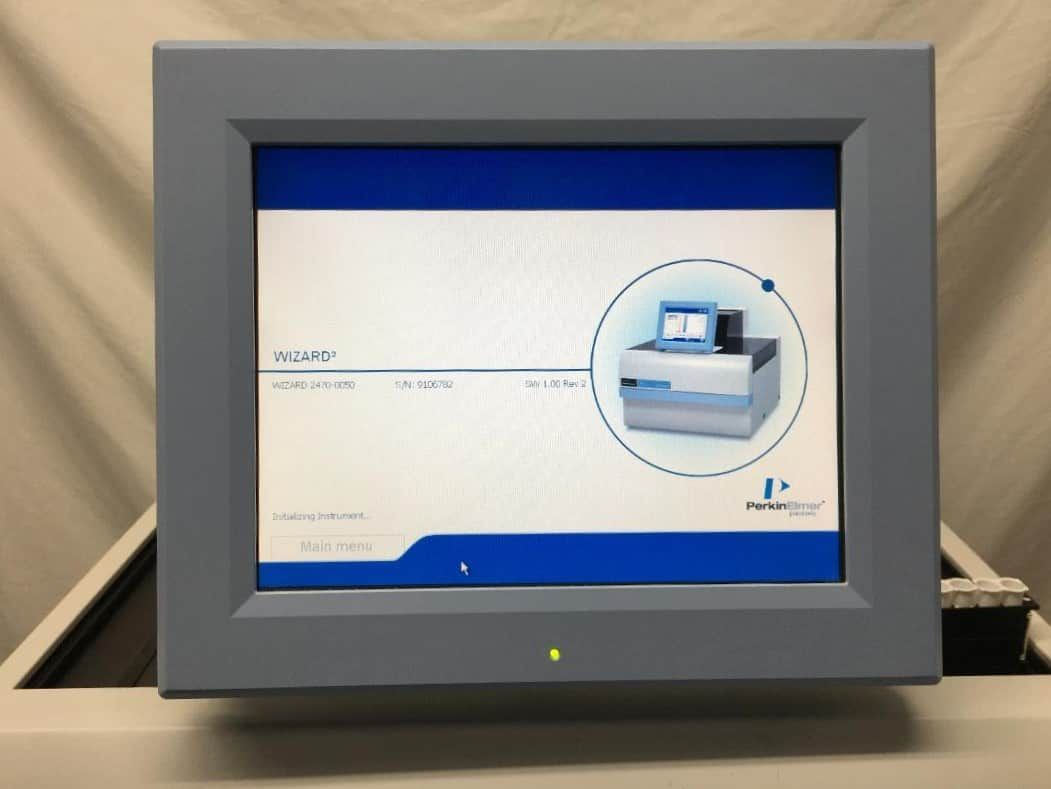 Perkin Elmer Wizard 2  2470 Automatic Gamma Counter with cart - Tested