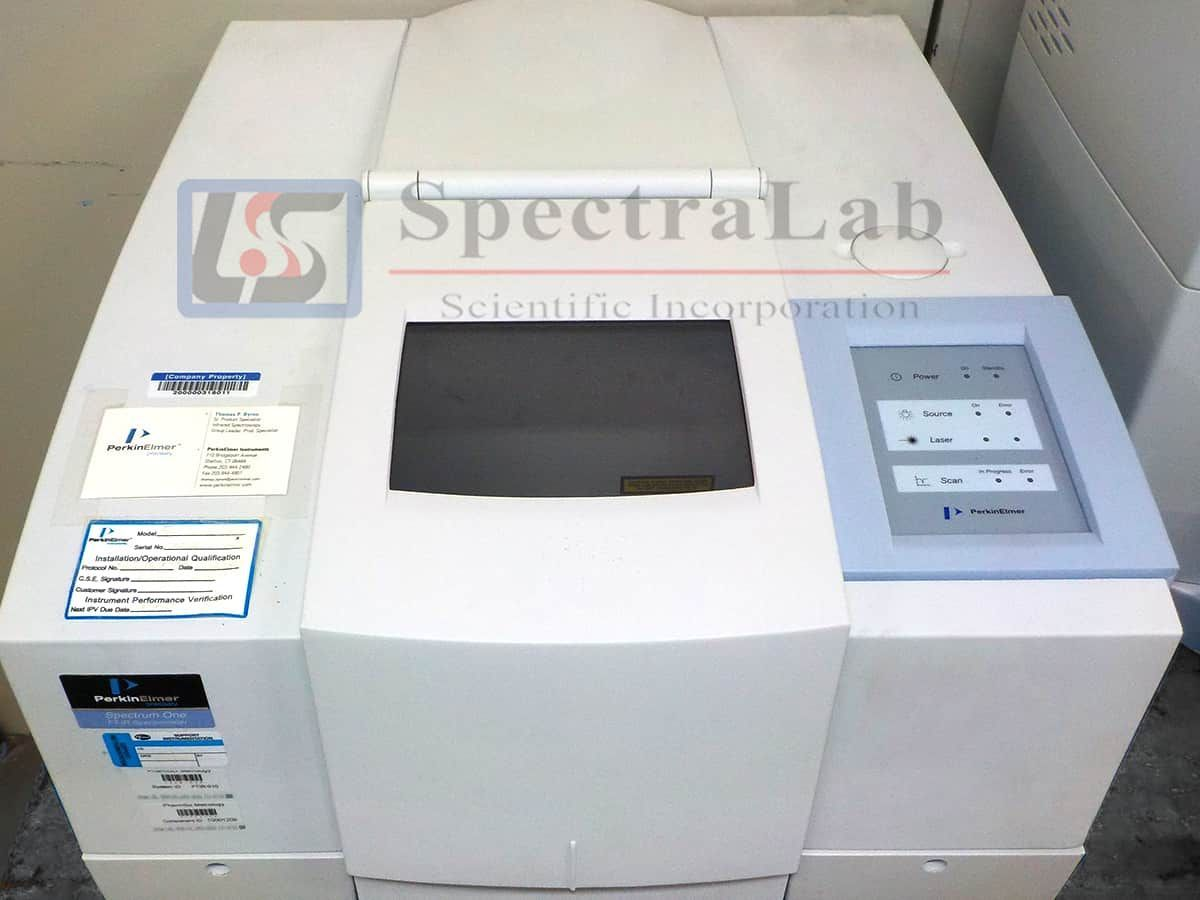 Perkin Elmer Spectrum ONE FT-IR Spectrometer with Spectrum Spotlight 300 FT-IR Imaging System