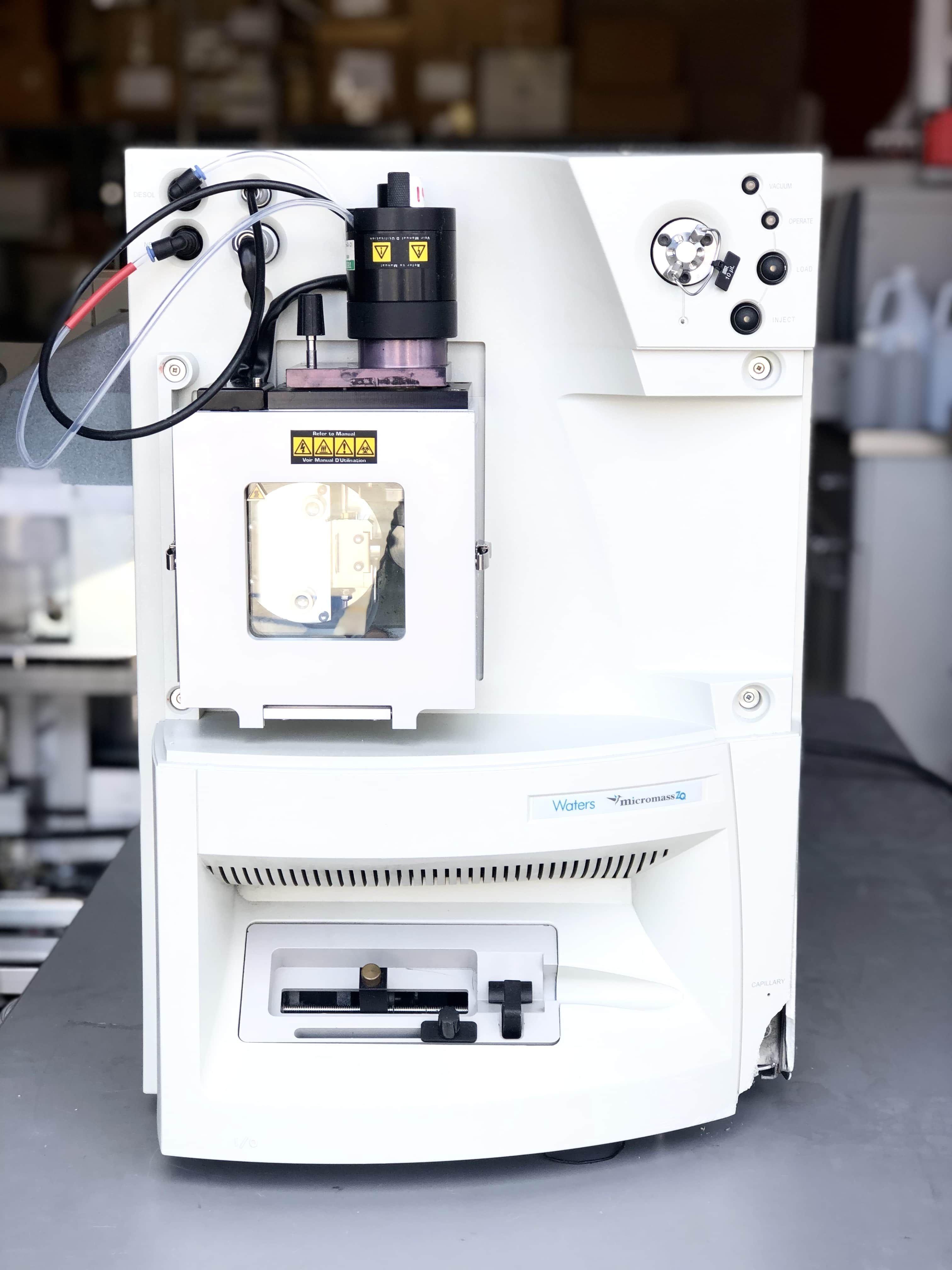 Waters Mircromass ZQ Mass Spectrometer Quadrupole Mass Analyzer For Sale