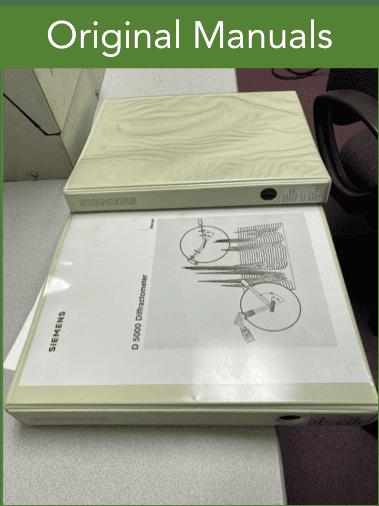 Siemens D5000 X-Ray Diffractometer