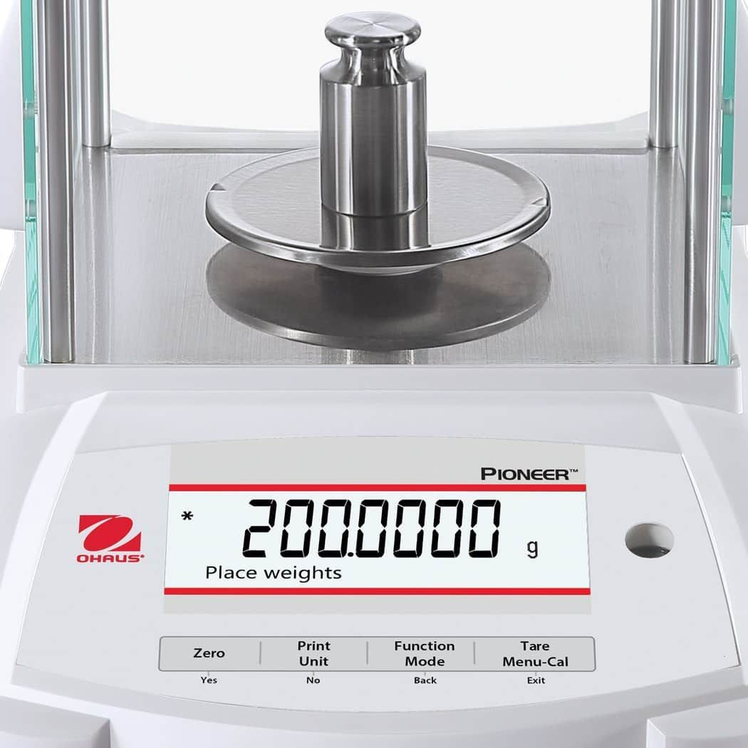 Analytical balance (4 place) | Ohaus PX224/E AM Pioneer (220g x 0.1mg) (NEW)