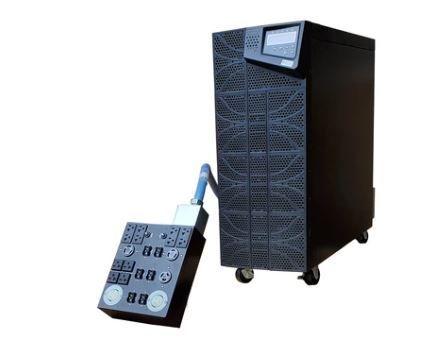 Plug And Play 6 kVA / 6,000 Watt Power Conditioner, Voltage Regulator, & Battery Backup UPS With Built In Isolation Transformer