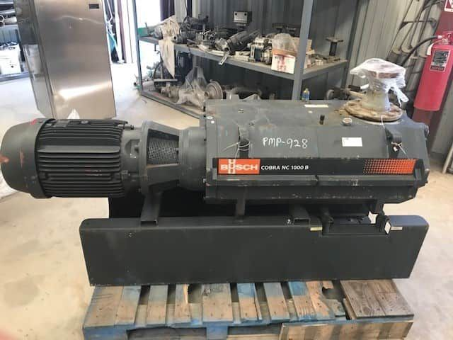 Busch Vacuum Pump model Cobra NC1000BL01. Dry Screw Vacuum pump. 590 ACFM