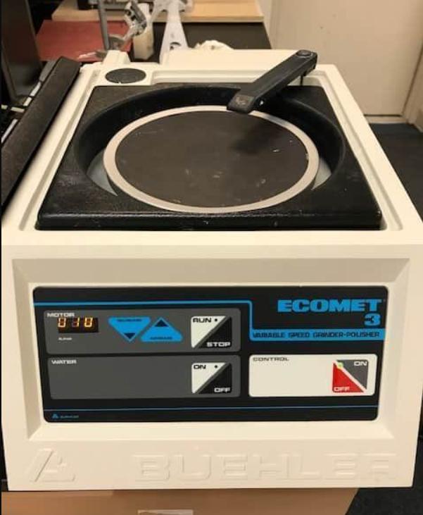 Buehler Ecomet 3 Variable Speed Grinder-Polisher