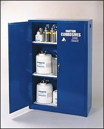 Eagle 60 gallon Acid/Base Storage Cabinet with Manual Close Doors – Government Lab Enterprises