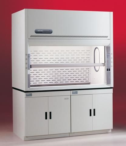 Labconco Protector XStream 8 foot laboratory benchtop fume hood 110-11 – Government Lab Enterprises