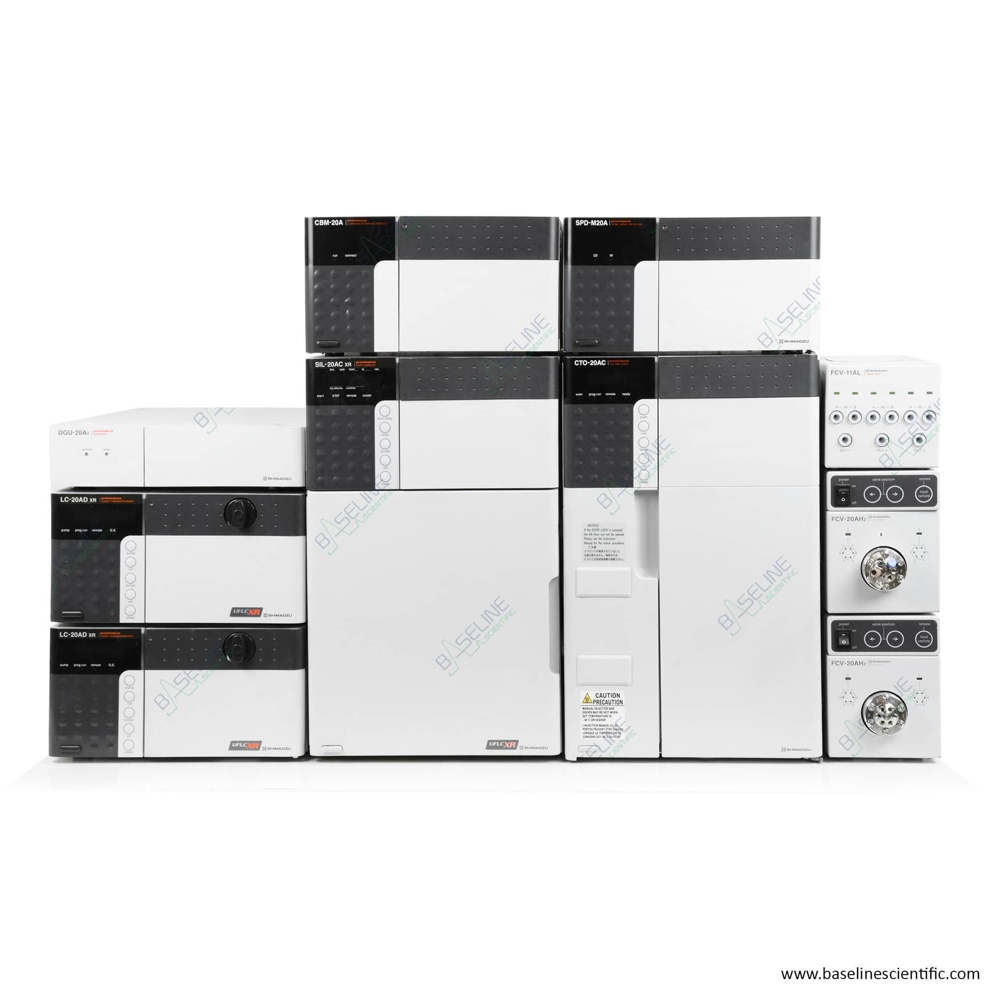 Refurbished Shimadzu Prominence FPLC/HPLC System with ONE YEAR WARRANTY