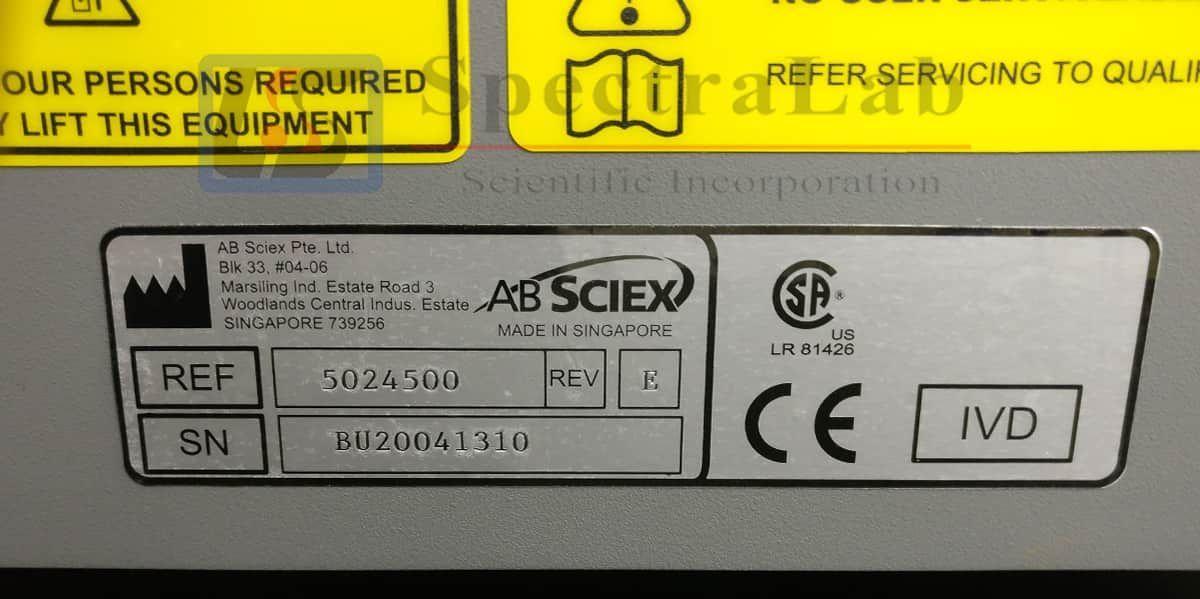 AB SCIEX 3200MD QTRAP LC/MS/MS System with Shimadzu uFLC