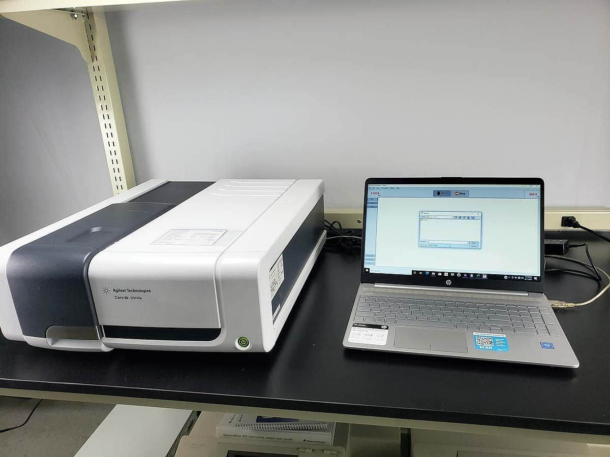UV-Vis Spectrophotometer with computer and software  | Agilent Cary 60
