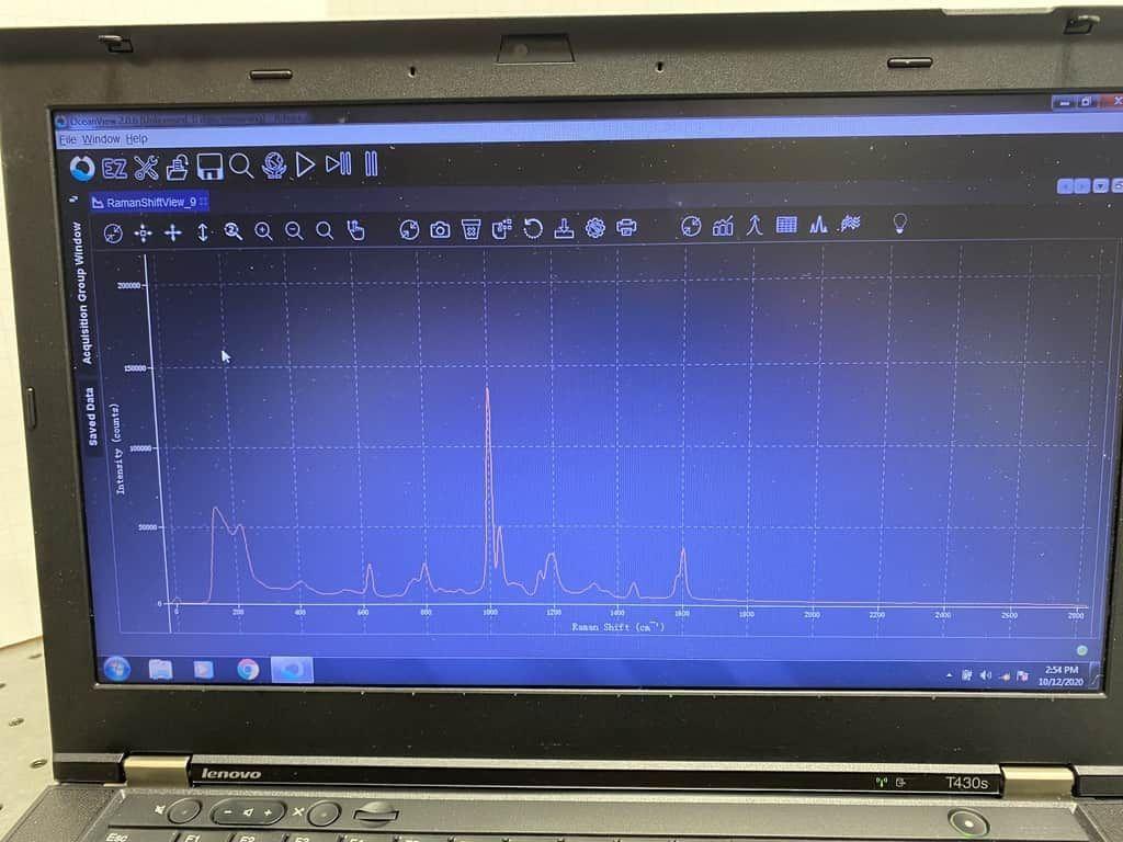 Ocean Optics Raman System