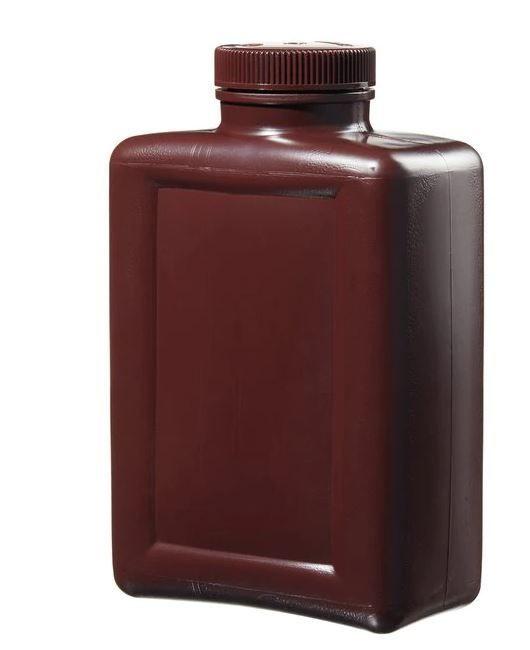 Thermo Scientific Nalgene™ Rectangular Amber HDPE Bottles