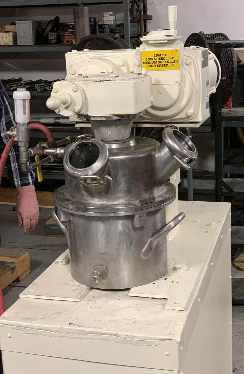 REFURBISHED ROSS LDM-2 DOUBLE PLANETARY MIXER