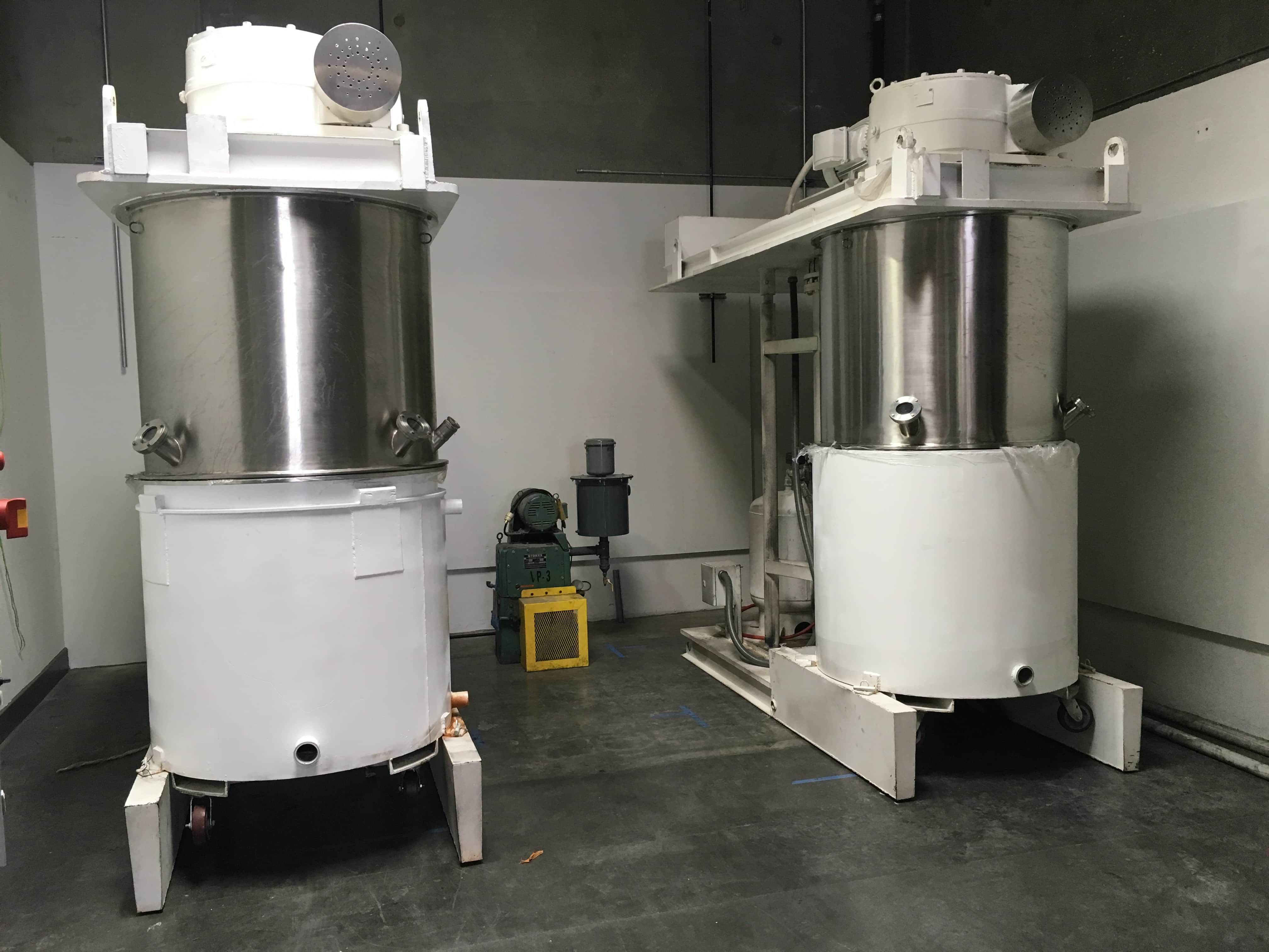 Ross Type 200-225 Gallon Double Planetary Mixer - Vacuum Type