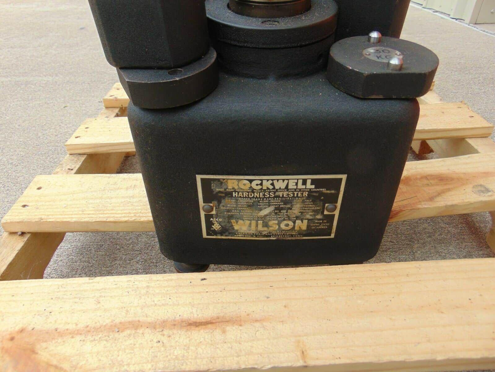 Rockwell Hardness Tester MODEL 5 TT BB