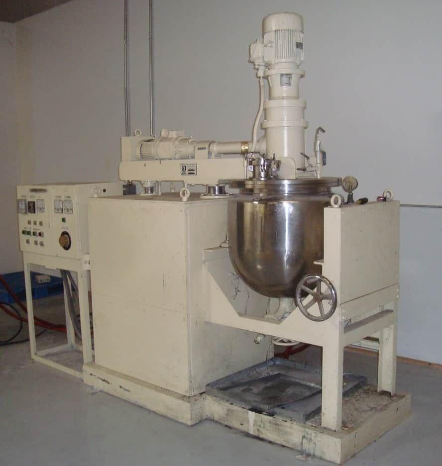 Ross Co-Axial Vacuum Mixer, Model 100 Litre AGI
