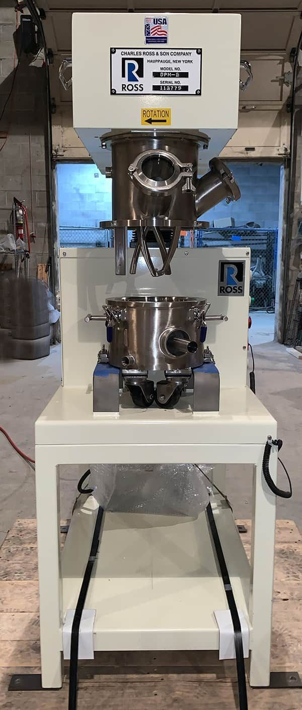 ROSS DPM-1 GALLON DOUBLE PLANETARY MIXER WITH HV BLADES
