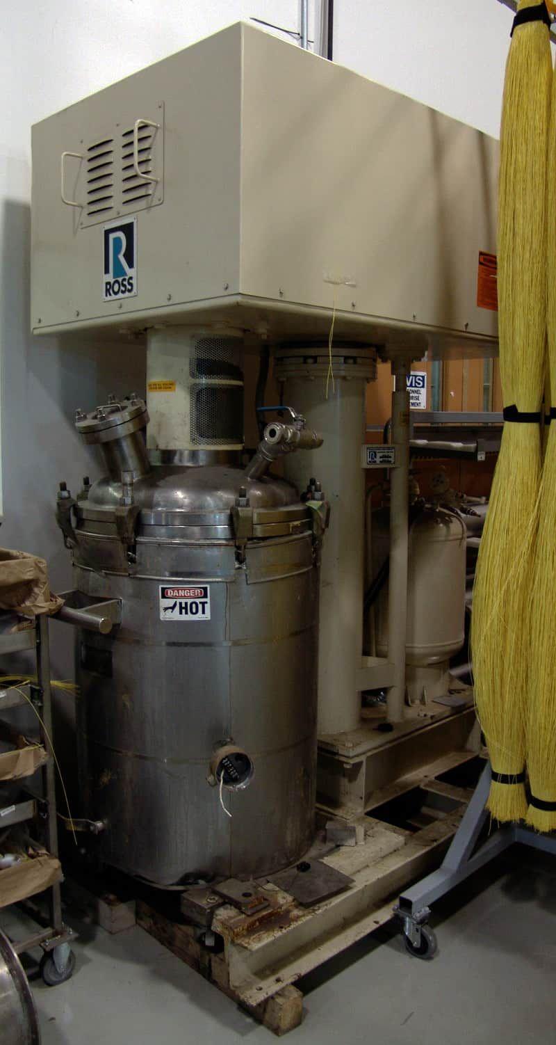 Ross HSM-40 Gallon Vacuum Mixer For Viscous Products