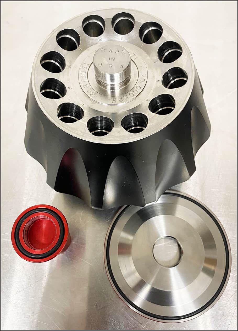 Beckman Ultracentrifuge Rotor 70.1TI  w WARRANTY