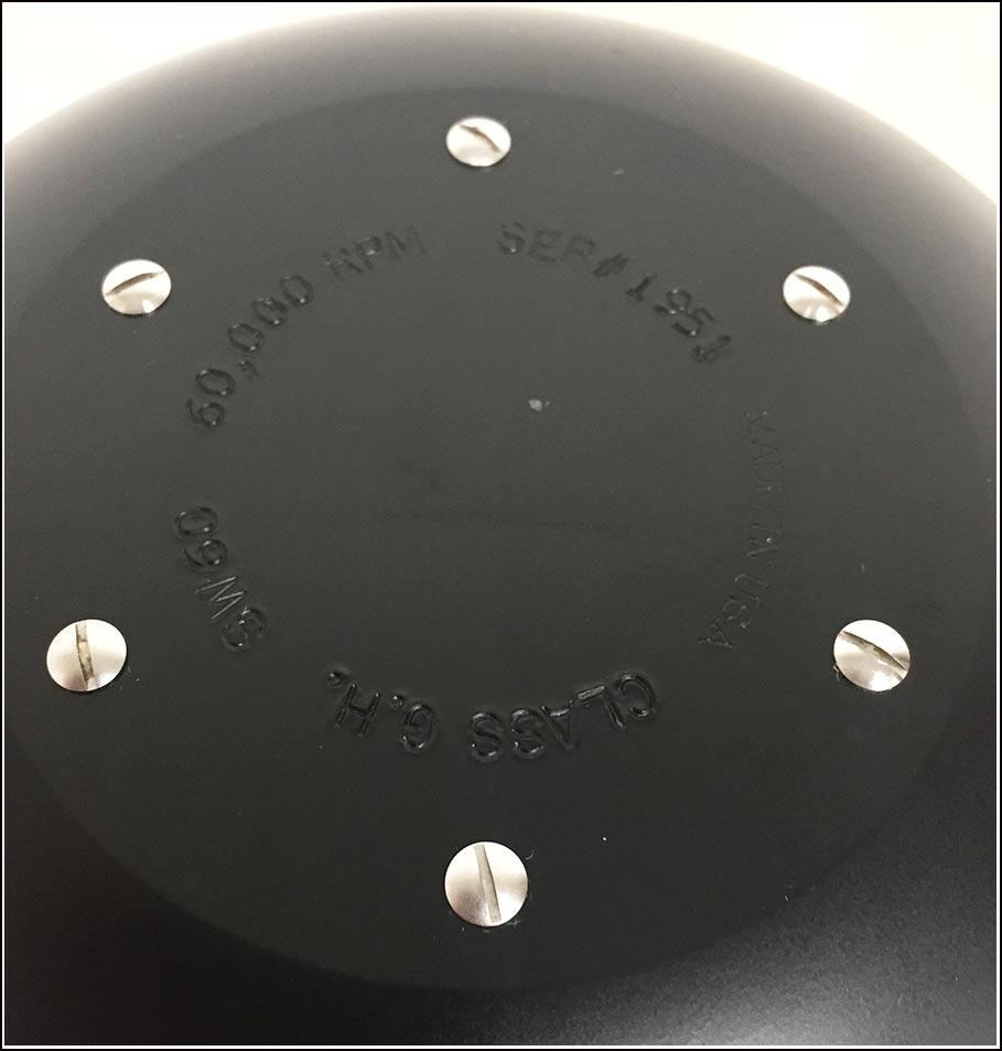 Beckman SW60 TI Rotor Complete w Buckets  & WARRANTY
