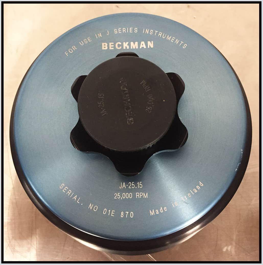 Beckman JA-25.15 Fixed Angle Rotor w WARRANTY
