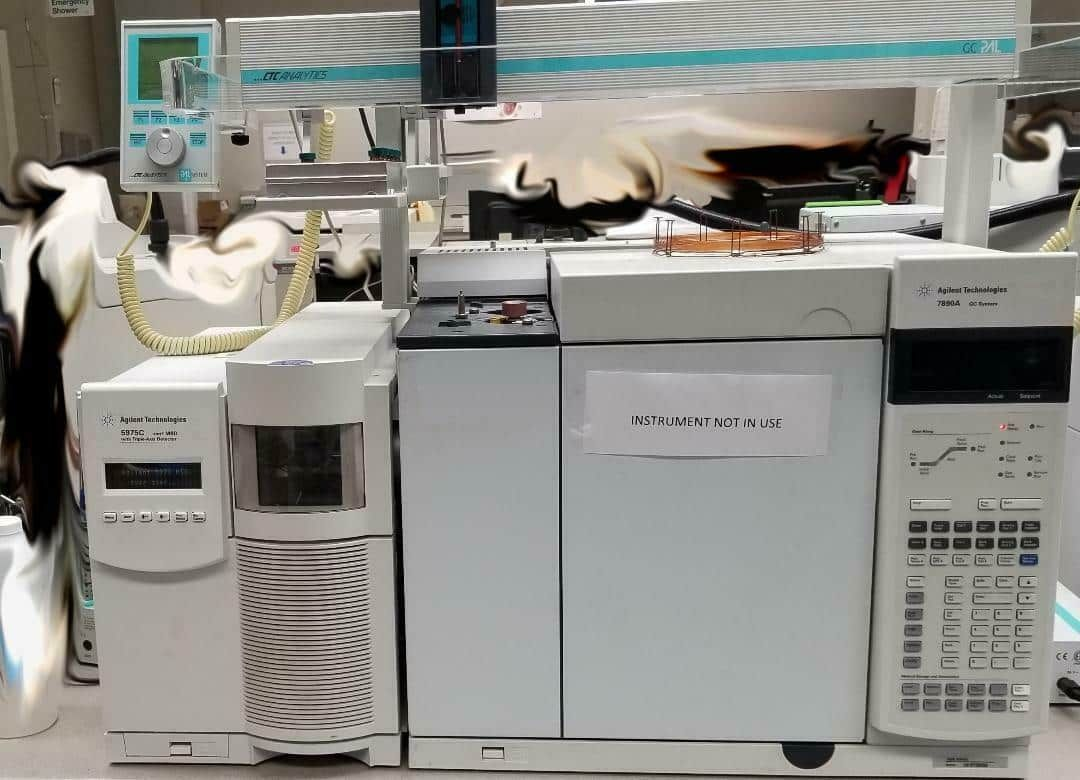 Refurbished Agilent 7890A / 5975C with Computer.