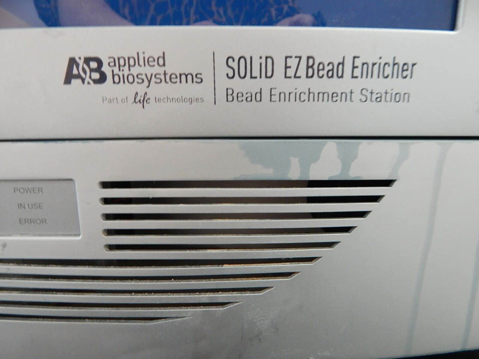 Applied Biosystems SOLiD EZ Bead System with 5500xl Sequencer