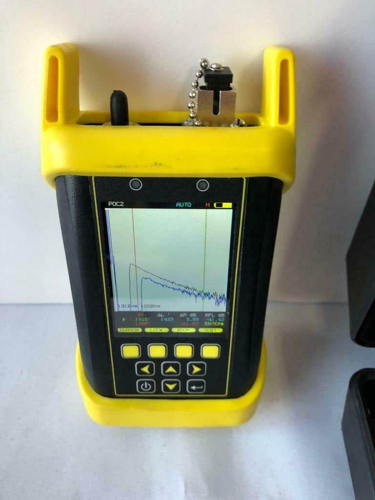 Optical Wavelength Labs WTO2-S35 OWLTrek II 1310/1550nm Singlemode OTDR - Li-ion