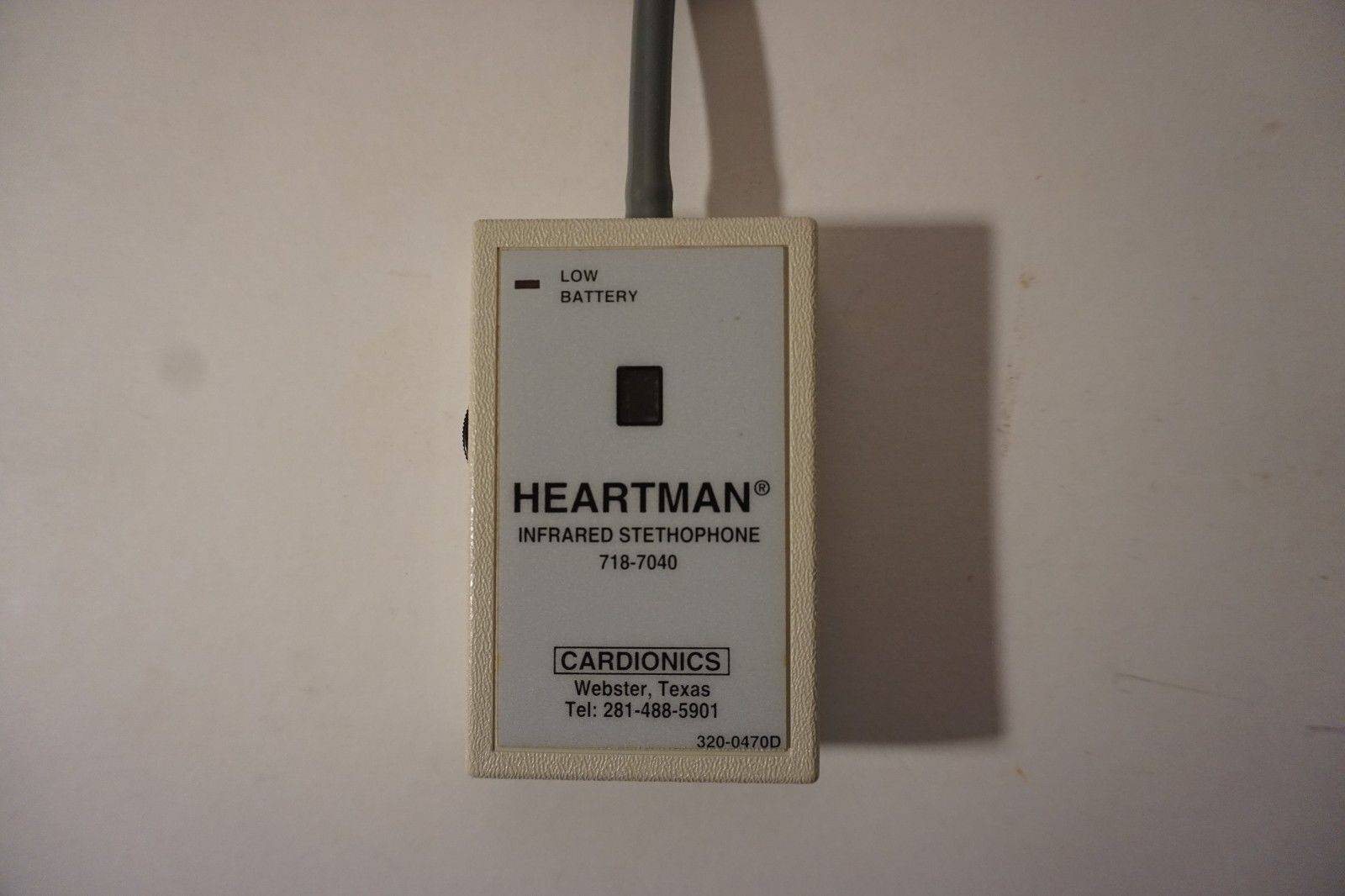 Lot of 120, Cardionics, Heartman MO/PN: 718-7040 Infrared Stethophone