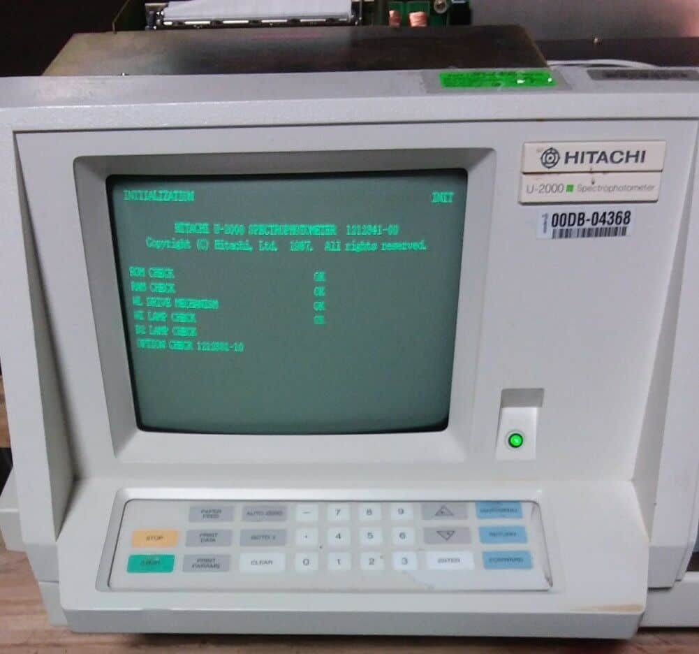 Hitachi U-2000 Spectrophotometer 121-0120