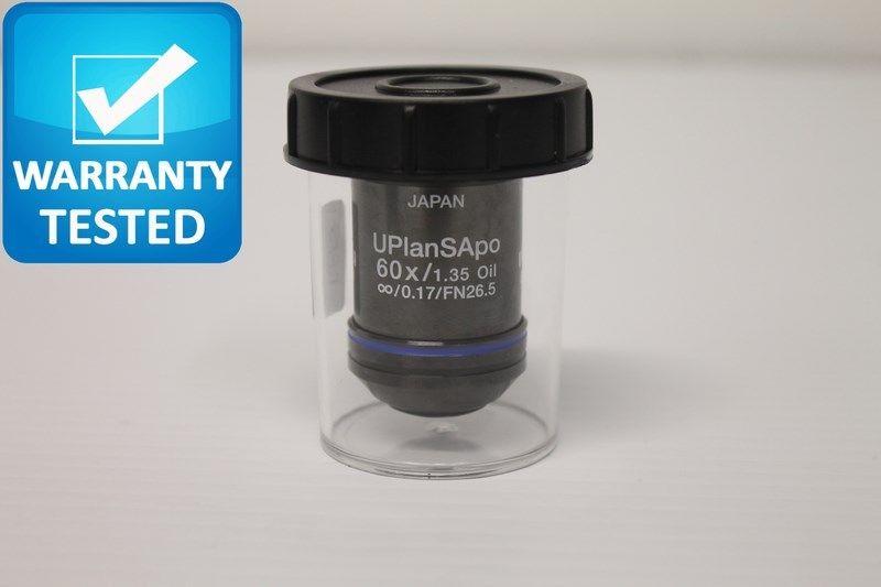 Olympus UPlanSApo 60x/1.35 Oil [infinity]/0.17/FN26.5 objective