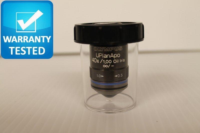 Olympus UPlanAPO 40x/1.00 Oil Iris [infinity]/- Objective