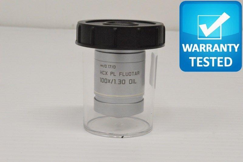 Leica HCX PL FLUOTAR 100x/1.30 Oil Objective