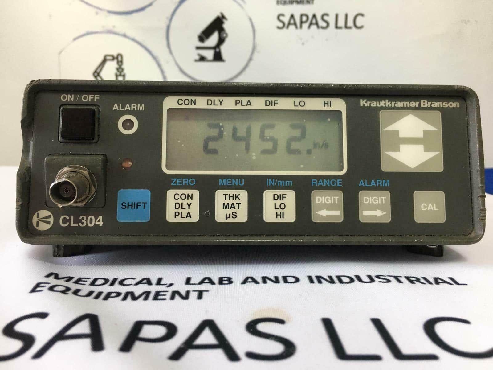 Krautkramer Branson CL304/CL-304 Portable Ultrasonic Thickness Guage