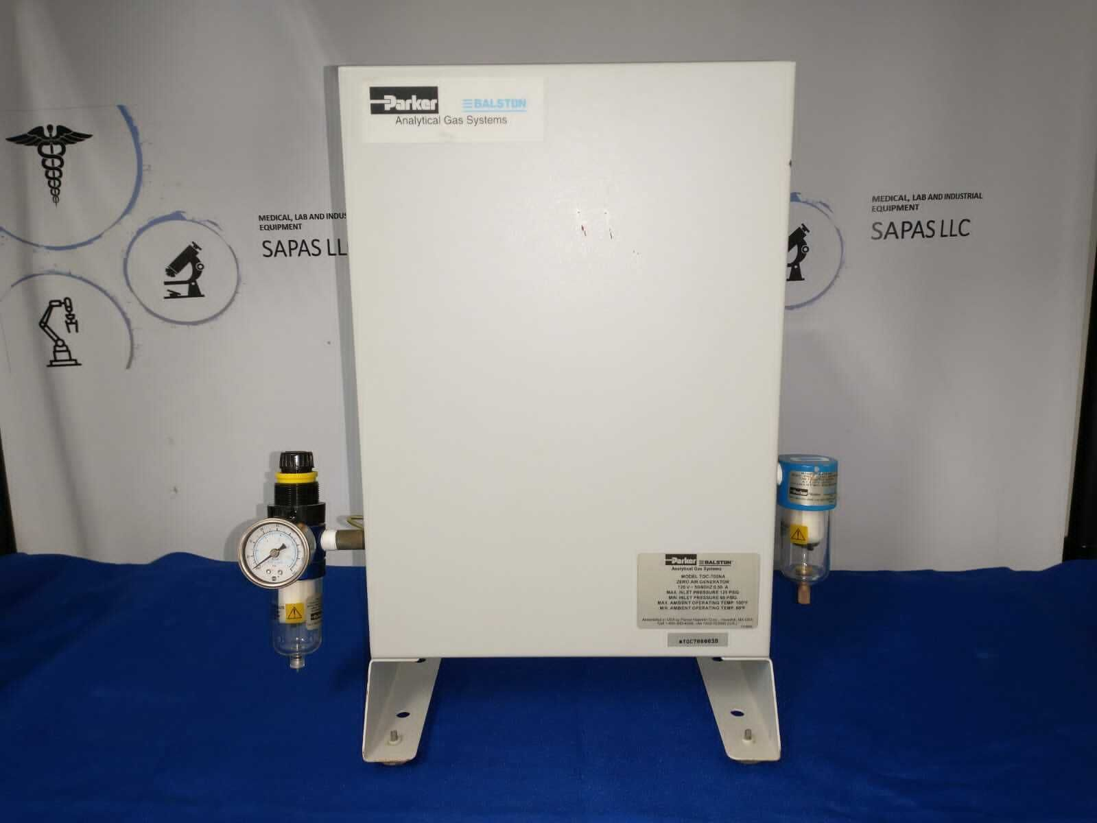 Parker Balston Analytical Gas System Zero Air Generation TOC-700NA