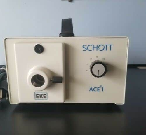 Schott  model 20500 Fiber Optic Light Source