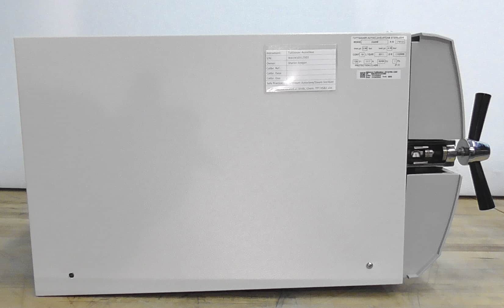 Heidolph Tuttnauer 2340M Table Top Autoclave