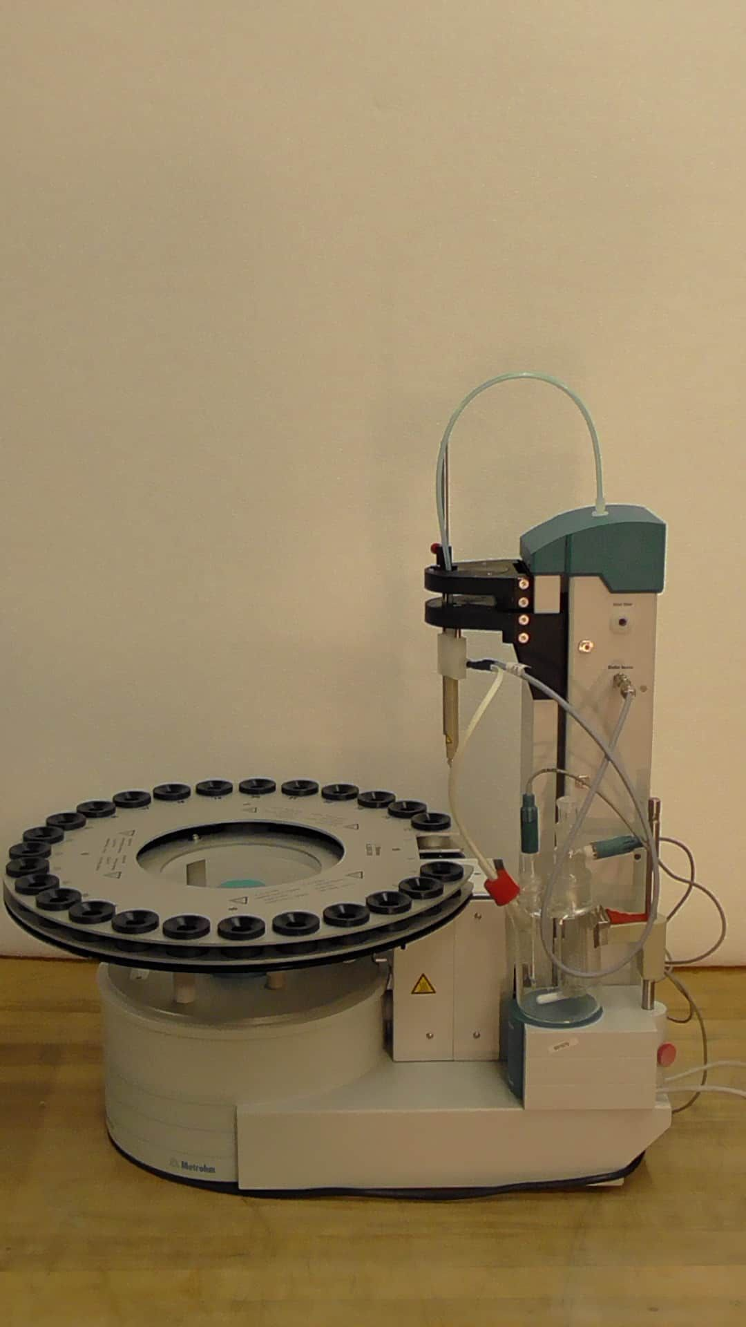 Metrohm 874 Oven Sample Processor & 756 KF Coulometer Titration System