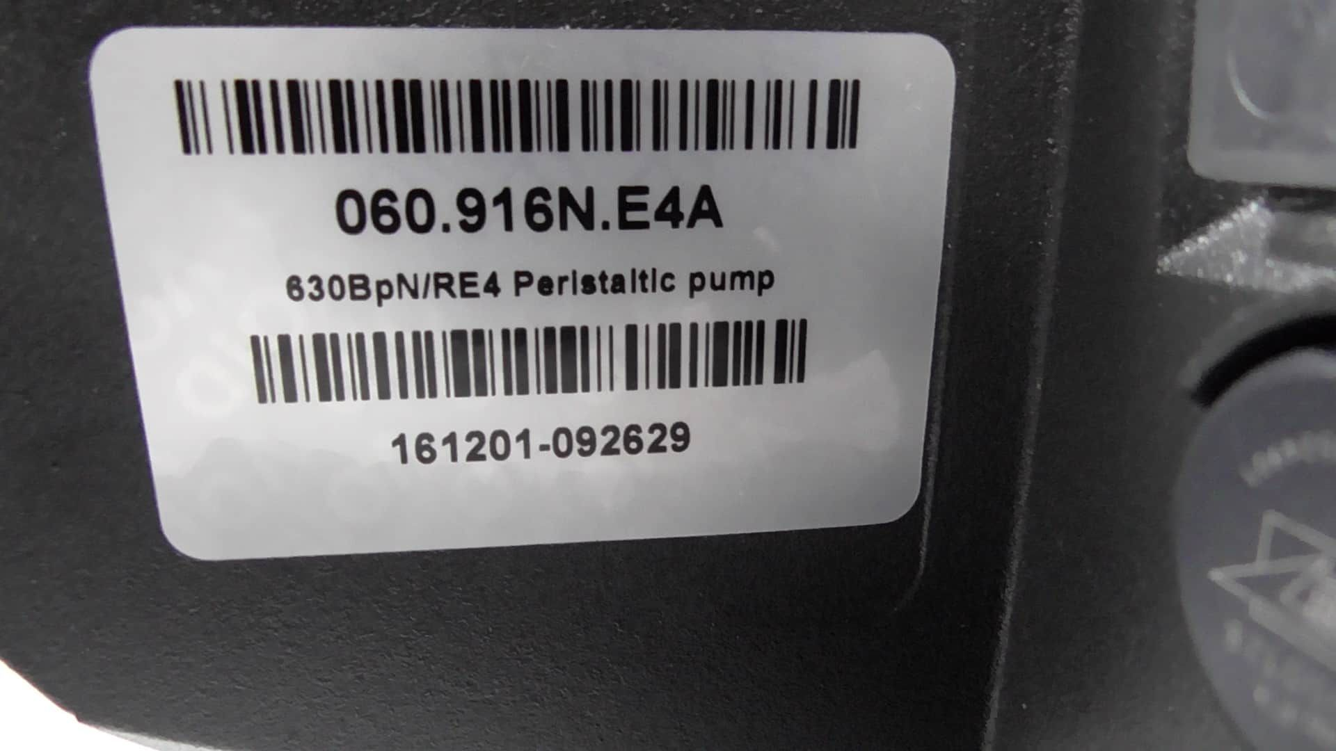 Watson Marlow 630BpN/RE4 Peristaltic Pump in LIKE NEW Condition