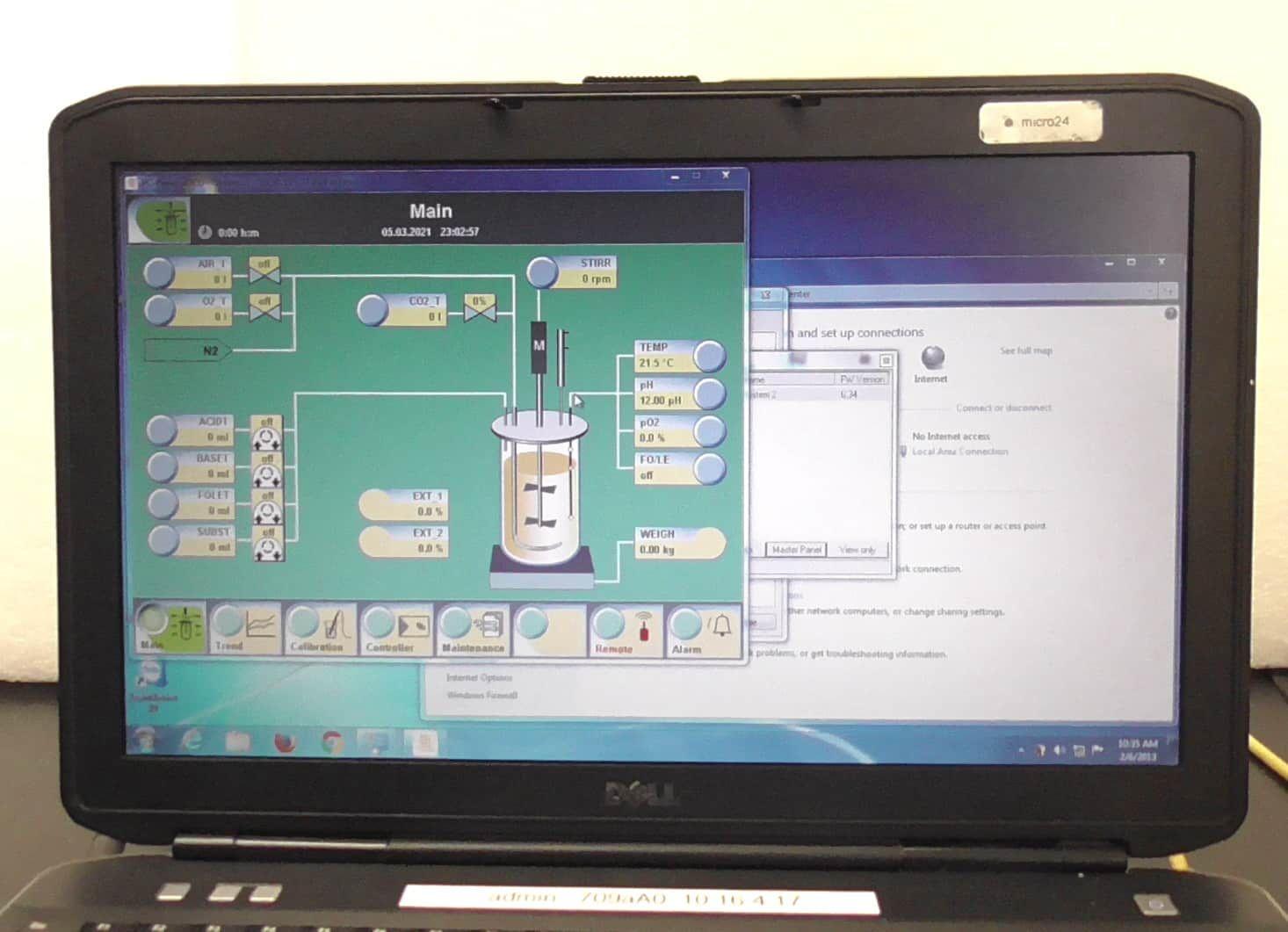 Sartorius Biostat A Plus 2 Liter Bioreactor