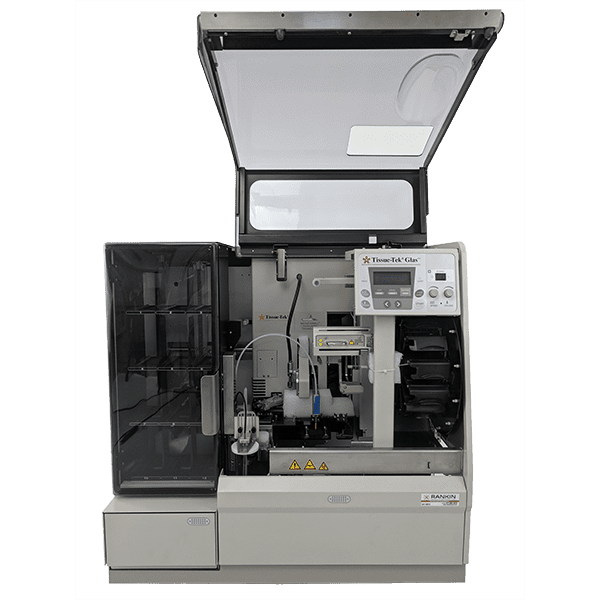 ~$1,711/mo - Sakura Tissue-Tek Prisma 6130 Stainer and Glas g2 6500 Coverslipper Workstation | Rankin 1-Year Warranty