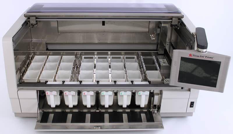 ~$1,711/mo - Sakura Tissue-Tek Prisma 6130 and Film 4740 Slide Stainer Coverslipper Workstation | Rankin 1-Year Warranty