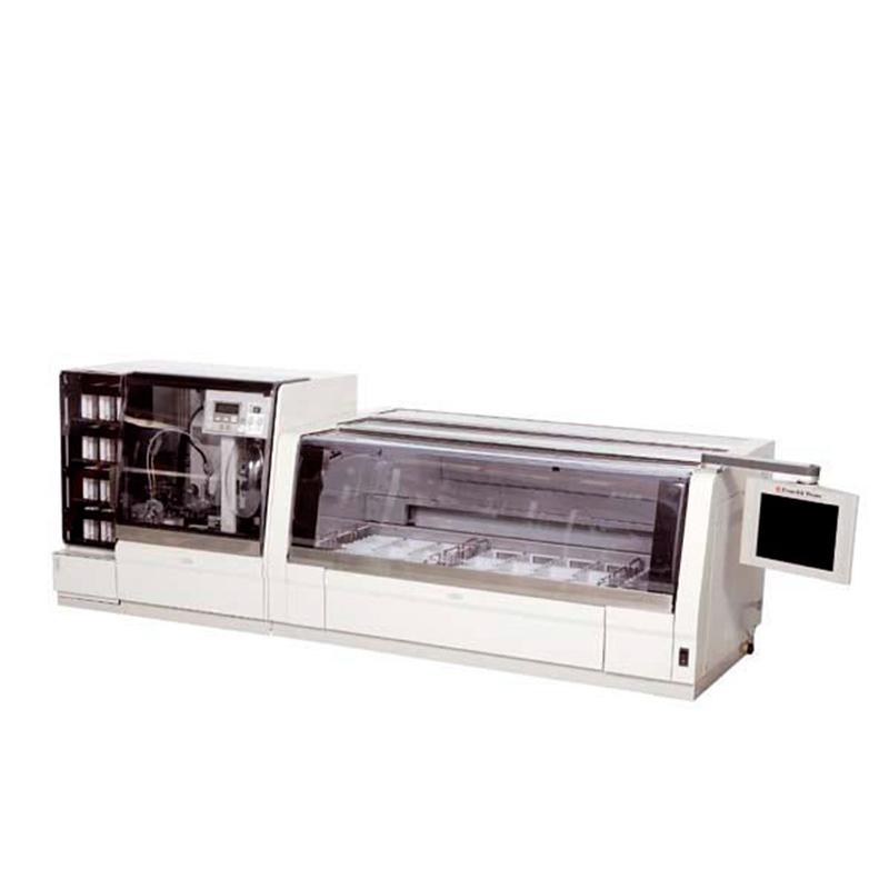 Sakura Prisma 6130 Stainer / 4740 Coverslipper Workstation | Rankin 1-Year Parts & Labor Warranty