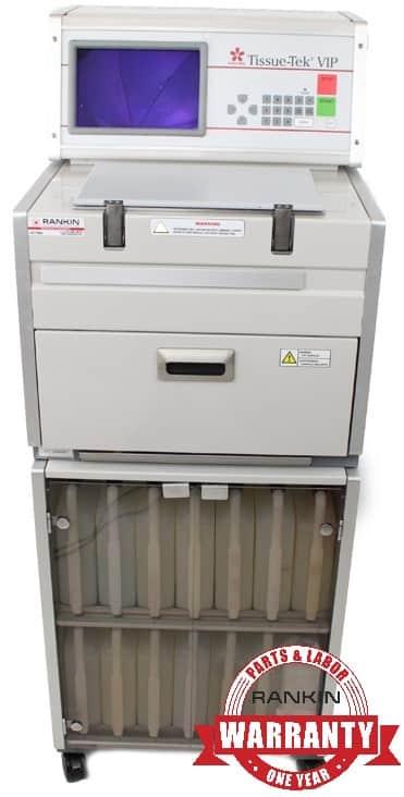 Sakura VIP E300 Tissue Processor | Rankin 1-Year Parts & Labor Warranty