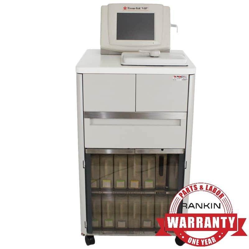 Sakura VIP 6 Tissue Processor | Rankin 1-Year Parts & Labor Warranty
